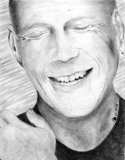 Bruce Willis by Ynnej59
